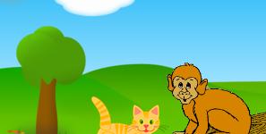 Hindi Story for Kids – बिल्ली और बंदर